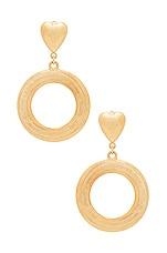 Frasier Sterling Oh My Earrings in Gold