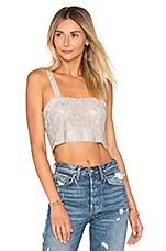 Frasier Sterling After Party Tank in Silver