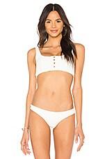 Frankies Bikinis Alana Top in White