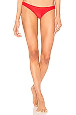 Frankies Bikinis Greer Bottoms in Red