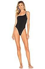 Frankies Bikinis Eliza One Piece in Black