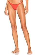 Frankies Bikinis Willa Bottom in Rave Heart