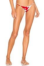 Frankies Bikinis Sadie Bottom in Azalea Floral