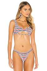 Frankies Bikinis Cole Top in Americana