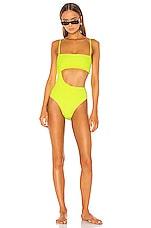 Frankies Bikinis X REVOLVE Carter One Piece in Lemon Drop Yellow