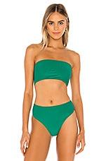 Frankies Bikinis Jenna Top in Emerald
