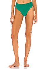 Frankies Bikinis Jenna Bottom in Emerald