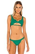 Frankies Bikinis Cole Top in Emerald