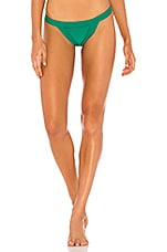 Frankies Bikinis Cole Bottom in Emerald