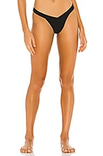 Frankies Bikinis Georgia Bottom in Black