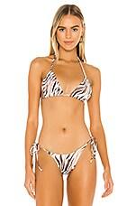 Frankies Bikinis Tavi Top in Tiger
