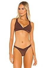 Frankies Bikinis X REVOLVE Georgia Top in Koa Brown
