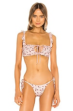 Frankies Bikinis Mackenzie Top in Rosebud