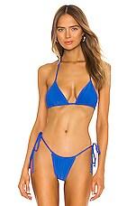 Frankies Bikinis X REVOLVE Tia Top in Royal