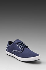 FOXX Canvas in Carbon Blue/White