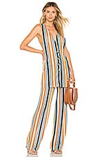 Free People Bridget Stripe Set in Mustard
