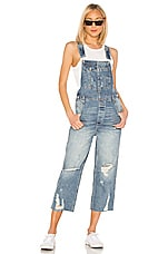 Free People Baggy BF Overall in Light Denim