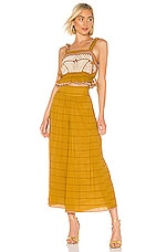 Free People Eva Set in Gold