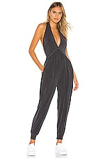 Free People Movement No Contest Jumpsuit in Black