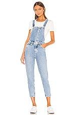 Free People Shelby Overall in Blue