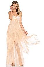 Free People Midnight Rendezvous Maxi Dress in Pink