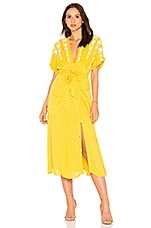 Free People Love To Love You Dress in Yellow