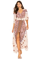 Free People Mexicali Rose Maxi Dress in Ivory