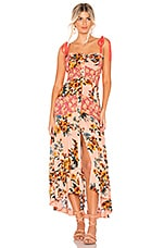 Free People Lover Boy Maxi in Red Combo
