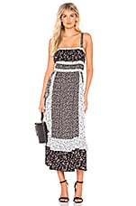 Free People Yessica Maxi in Black Combo