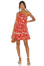 Free People All Mine Mini Dress in Red