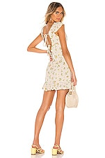 Free People Like A Lady Mini Dress in Cream