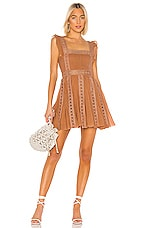 Free People Verona Dress in Taupe