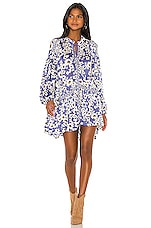 Free People Love Letter Tunic in Blue