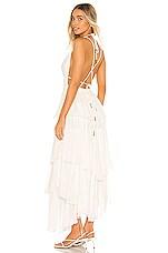 Free People Drop Dead Beauty Maxi Dress in Ivory