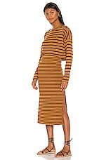 Free People Zinnia Striped Set in Black Combo