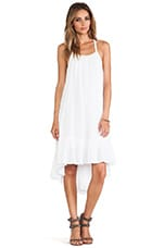 Free People Solid Gauze Dress in White