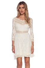 Free People Lacey Affair Dress in Tea