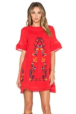 Free People Perfectly Victorian Dress in Tomato