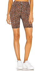 Free People Lucky Strike Bike Short in Multi