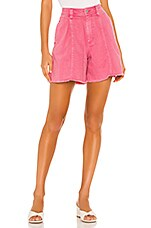 Free People Amelie A-line Short in Pink