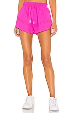 Free People Check It Out Short in Pink