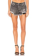 Free People Loving Good Vibrations Short in Black