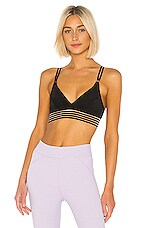 Free People X FP Movement In The Waves Bra in Black