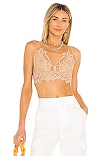 Free People Adella Bralette in Nude
