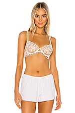 Free People Daniella Underwire Bra in Nude