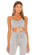 Free People X FP Movement High Bar Bra in Grey Combo