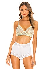 Free People Veronica Underwire Bra in Light Yellow
