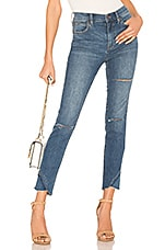 Free People Sunny Midrise Skinny Jean in Blue
