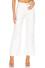 Free People High Rise Straight Flare in White