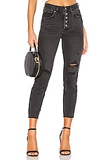 Free People Blossom Rigid Jean in Black